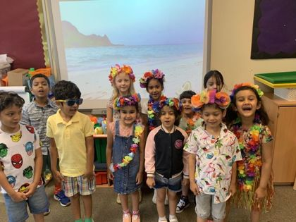 Lower School Beach Party July 2020