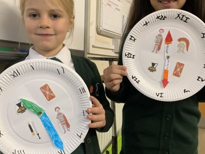 Year 3 Roman Day - December 2020